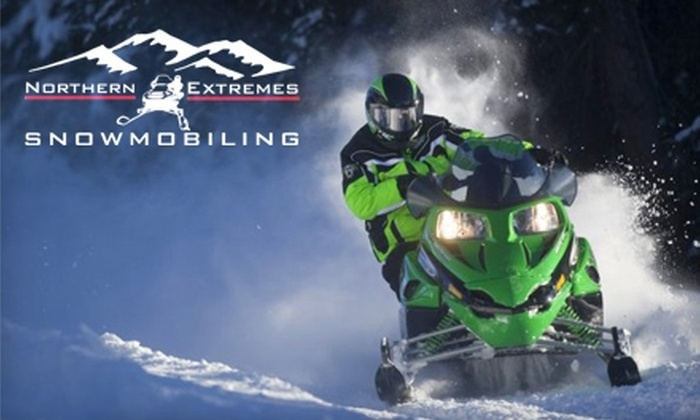Northern Extremes - Hart's Location: $60 for a Two-Hour Snowmobile Rental from Northern Extremes