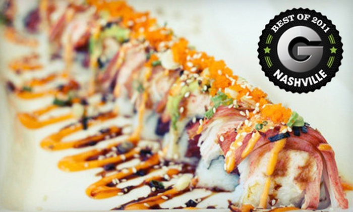 Kohana Japanese Restaurant - Multiple Locations: $15 for $30 Worth of Sushi and Tempura at Kohana Japanese Restaurant