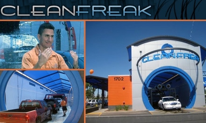 Clean Freak Car Wash  - Camelback East: One Month Unlimited Freaky Clean Carwashes at Clean Freak
