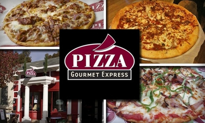 Pizza Gourmet Express - University Heights: $15 for Two 14'' Pies at Pizza Gourmet Express