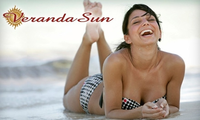 Veranda Sun - Transit Village: $35 for One Month of Unlimited Tanning ($69 Value) or $15 for One Custom Airbrush Tan ($35 Value) at Veranda Sun in Boulder