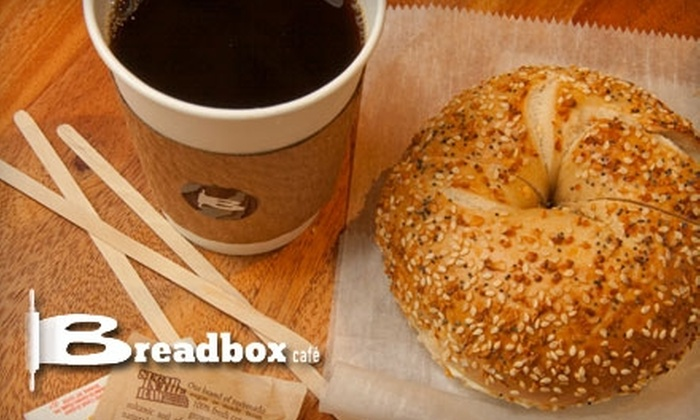 Breadbox Café - Hunters Point: $5 for $10 Worth of Bistro Fare at Breadbox Café
