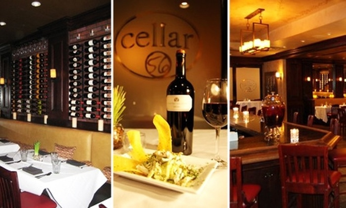 Cellar 56 - Peachtree Heights West: $10 for $25 Worth of Wine and Small Dishes at Cellar 56