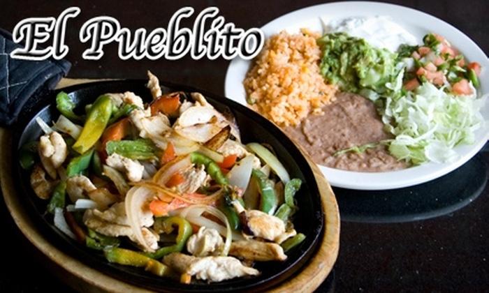 El Pueblito - Westside South: $7 for $15 Worth of Mexican Fare and Drinks at El Pueblito