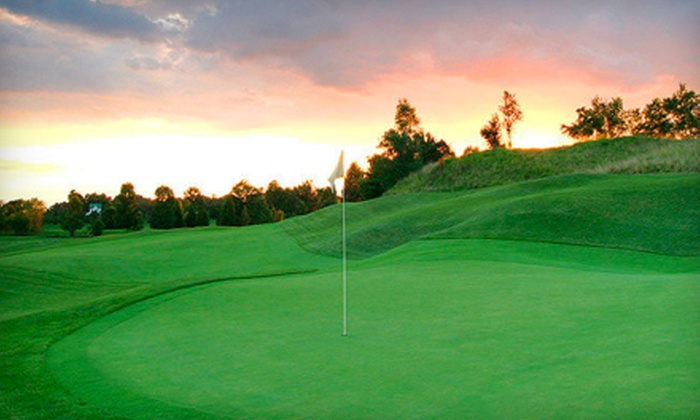 Blue Mash Golf Course - Laytonsville: $110 for a Full-Day Golf Outing and One-Hour Private Lesson at Blue Mash Golf Course in Laytonsville (Up to $240 Value)
