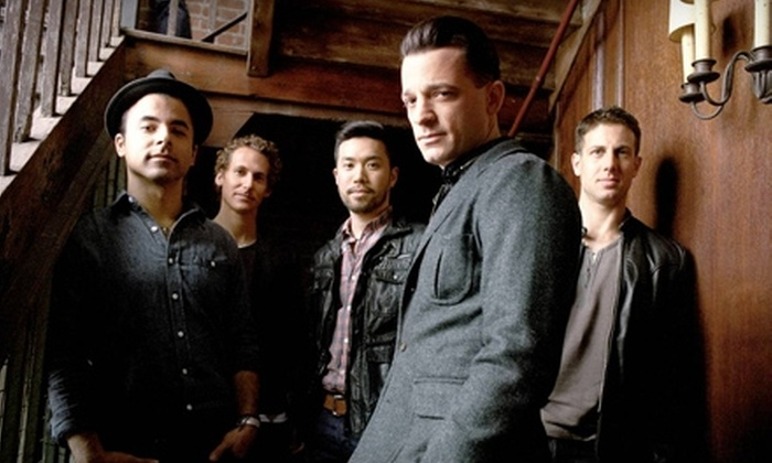O.A.R. at the PNC Bank Arts Center - Holmdel: One Ticket to See O.A.R. at the PNC Bank Arts Center in Holmdel on July 9 at 7 p.m. (Up to $52.10 Value)