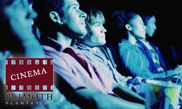 Plimoth Cinema - Plymouth: $10 for Two Tickets and Popcorn at Plimoth Cinema in Plymouth (Up to $22 Value)