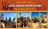 Cave Creek Outfitters - North Scottsdale: $38 Two-Hour Guided Horseback-Riding Tour with Cave Creek Outfitters ($70 Value)