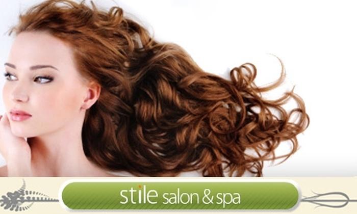 Stile Salon & Spa - Easton: $30 for $60 Worth of Services at Stile Salon & Spa