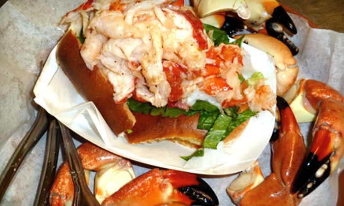 Cafe Heavenly - New Smyrna Beach: Sandwiches, Seafood, and Smoothies or 3 Pounds of Stone-Crab Claws at Cafe Heavenly (Half Off)