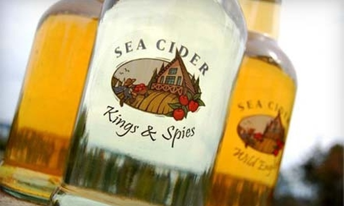 Sea Cider Farm and Ciderhouse - Saanichton: $25 for Cider Flight, Cheese Platter, Sparkling Cider, and Mulled Cider for Two at Sea Cider Farm & Ciderhouse (Up to $65.48 Value)