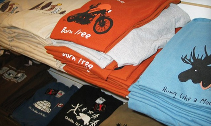 Red Maple - Kingston: $15 for $30 Worth of Men's, Women's, and Children's Casual Graphic Apparel at Red Maple