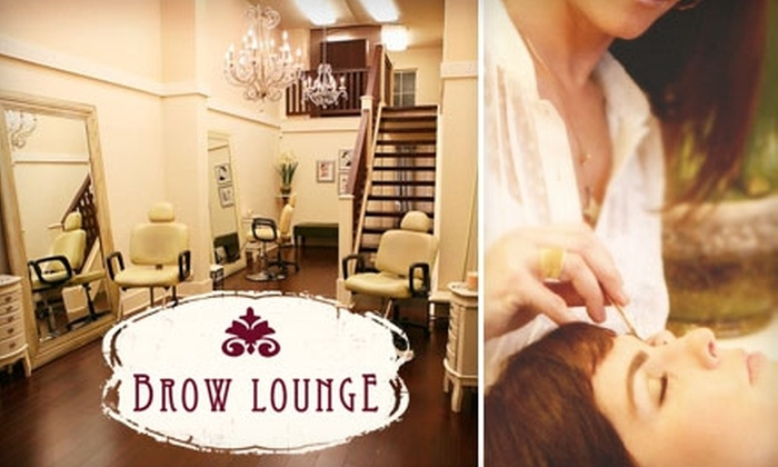 Brow Lounge - Village: $20 for Eyebrow-Shaping Plus $20 Off Any Additional Service at Brow Lounge ($60 Total Value)