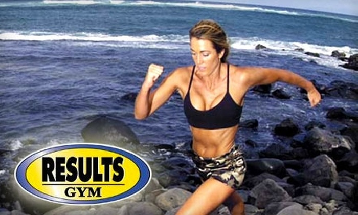 Results Gym - Multiple Locations: $39 for One-Month Flagship Membership with Unlimited Tanning at Results Gym ($102 Value)