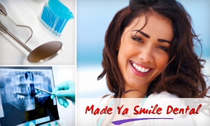 Made Ya Smile Dental - Multiple Locations: $49 for Exam, Cleaning, Consultation, and a Set of X-Rays at Made Ya Smile Dental ($304 Value)