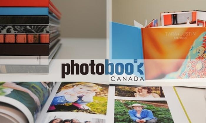 Photobook Canada - Vancouver: $35 for $115 Worth of Keepsake Books from Photobook Canada