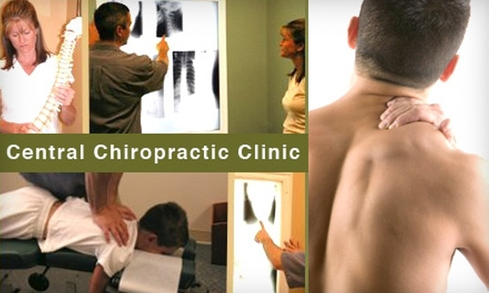 Central Chiropractic Clinic - West University: $47 for a Consultation, Exam, X-ray, and Adjustment at Central Chiropractic Clinic ($275 Value)