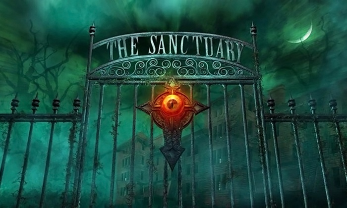 The Sanctuary OKC - Riverside: General or FastPass Haunted-House Entry at The Sanctuary (Up to 50% Off)