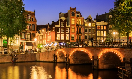 ✈ Amsterdam: Up to 4 Nights at a Choice of Hotels with Breakfast and Return Flights; with Option for Canal Cruise*