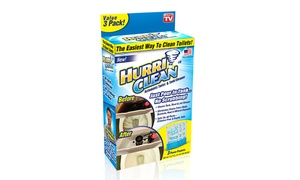HurriClean Toilet Tank and Bowl Cleaner (3-Pack) at HurriClean Toilet Tank and Bowl Cleaner (3-Pack), plus 6.0% Cash Back from Ebates.