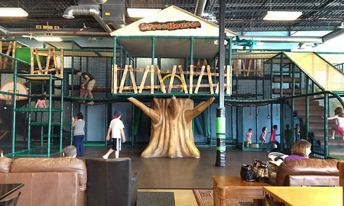 Chicago TreeHouse - Lake Zurich: $27 for a Punch Card fo Five Indoor-Play Visits at Chicago TreeHouse ($52.50 Value)
