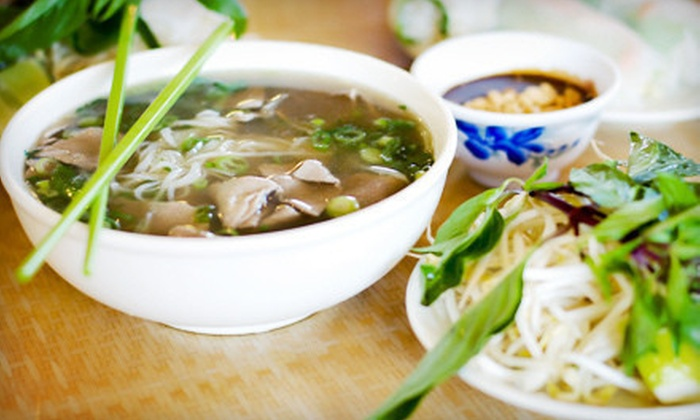 Pho Good - Blackhawk: $20 Off Your Bill at Pho Good. Two Options Available.