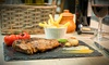 Tribeca South - Giffnock: Ribeye Steak with Sides and Wine for Two or Four at Tribeca South (44% Off)