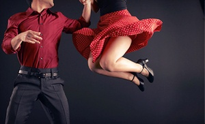 Rusty's Rhythm Club: Admission for One, Two, or Four to Dance Party with Beginners Swing-Dance Class at Rusty's Rhythm Club (Up to 53% Off)