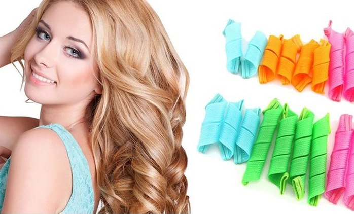Magic Leverage Reusable Hair Curlers from AED 19 (Up to 86% Off)