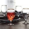 Gold Rim Drinkware Sets (4-Piece)