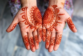 Happy Henna: 60-Minute Henna Art Session from Happy Henna (50% Off)