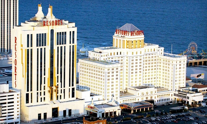 Resorts Casino Hotel - Atlantic City, New Jersey: One- or Two-Night Stay with Show Tickets and Spa Admission at Resorts Casino Hotel in Atlantic City, NJ