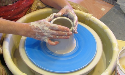 A Three-Hour Pottery Wheel Party for Two, Three, or Four at Timmy Hord Studio (50% Off)