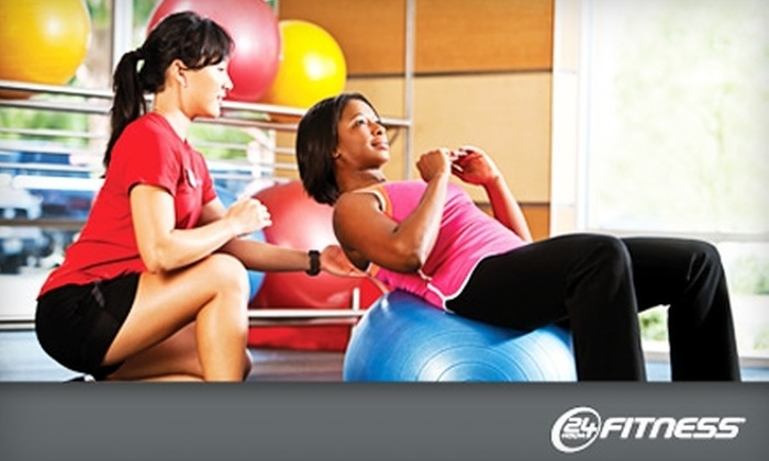 24 Hour Fitness - Multiple Locations: $25 for 30 Days of Access to 24 Hour Fitness ($75 Value). Five Locations Available.