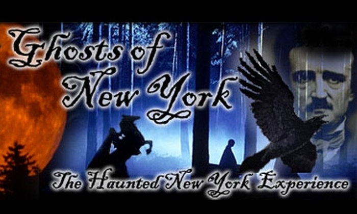 Ghosts of New York - Greenwich Village: $10 for a Choice of Ghost Tour from Ghosts of New York (Up to $25 Value)