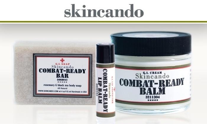 Skincando - Washington DC: $28 for Combat-Ready Skin Balm, Lip Balm, and Body Bar from Skincando ($56 Value)