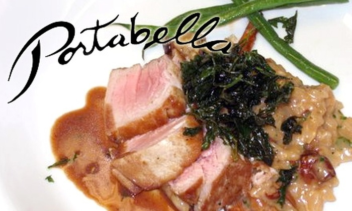 Portabella Restaurant  - Clayton: $13 for $30 Worth of Dinner Cuisine and Wine or $10 for $22 Worth of Lunch Fare at Portabella Restaurant