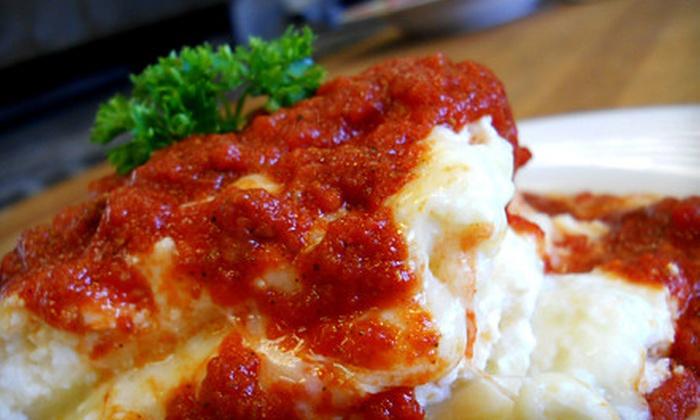 DiMille's Italian Restaurant - Adams North: $10 for $20 Worth of Italian Fare and Drinks at DiMille's Italian Restaurant