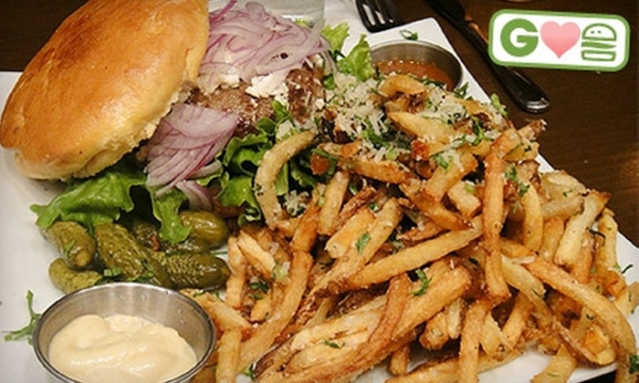 Steingarten LA - Rancho Park: $15 for Two Burgers at Steingarten LA (Up to $30 Value)