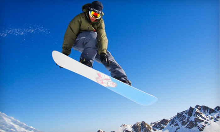 Meltdown Snowboard Shop - Multiple Locations: Snowboard or Ski Tune-Up or $50 for $100 Worth of Athletic Gear at Meltdown Snowboard Shop