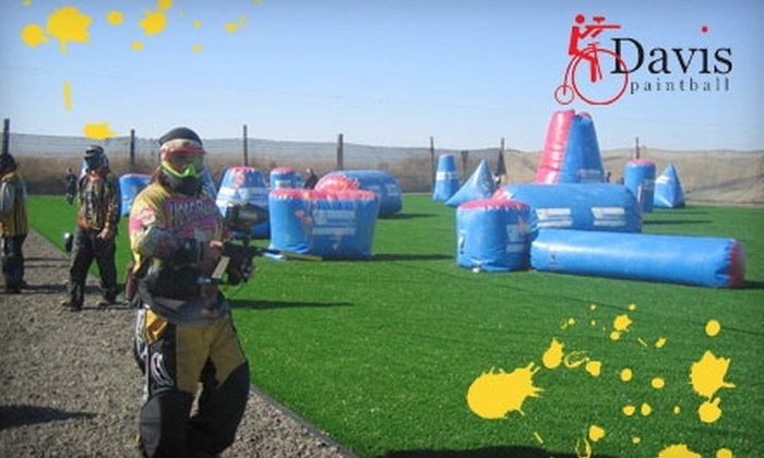 Davis Paintball - Davis: $20 for Full-Day Entry, Equipment Rental, and 200 Paintballs at Davis Paintball ($40 Value)