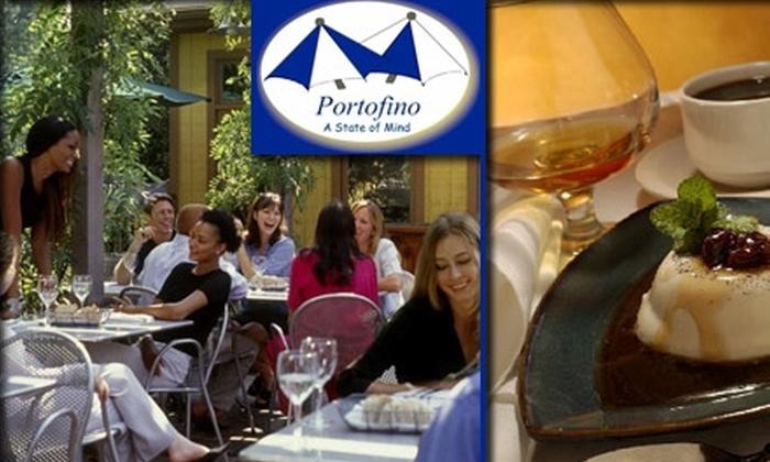 Portofino - South Tuxedo Park: $20 for $45 Worth of Romantic Italian Cuisine at Portofino