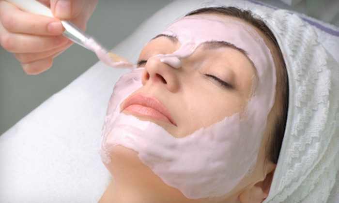 About Face & More - Downtown: Two Blue-Light Acne Treatments or Two Anti-Aging Facials and Hand Treatments at About Face & More