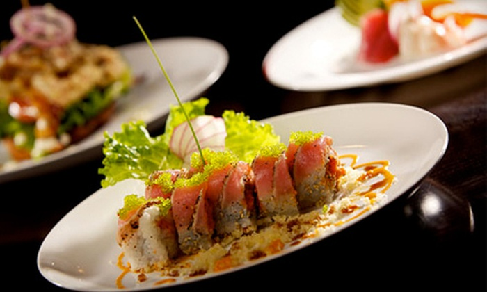 POC American Fusion Buffet & Sushi - Coral Gables Section: Sushi and American Fusion Buffet Fare for Dinner at POC American Fusion Buffet & Sushi (Half Off). Four Options Available.