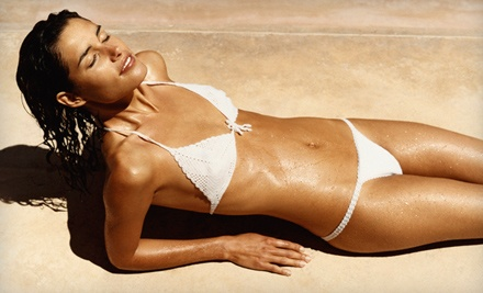 2 Mystic Spray Tans (up to a $60 value) - Spray of Sunshine Chicago in Mokena