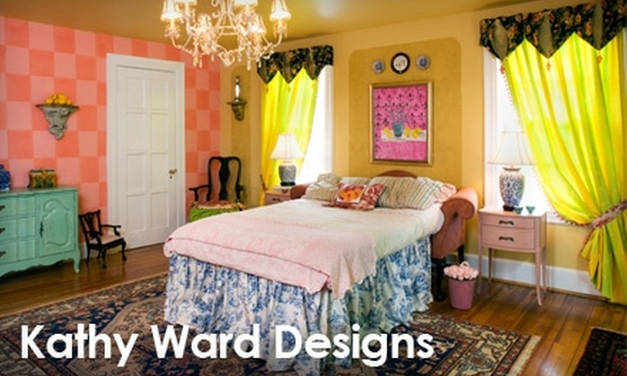 """Kathy Ward Designs - Baltimore: $75 for a Four-Hour """"Done in a Day"""" Interior-Design Service from Kathy Ward Designs ($200 Value)"""