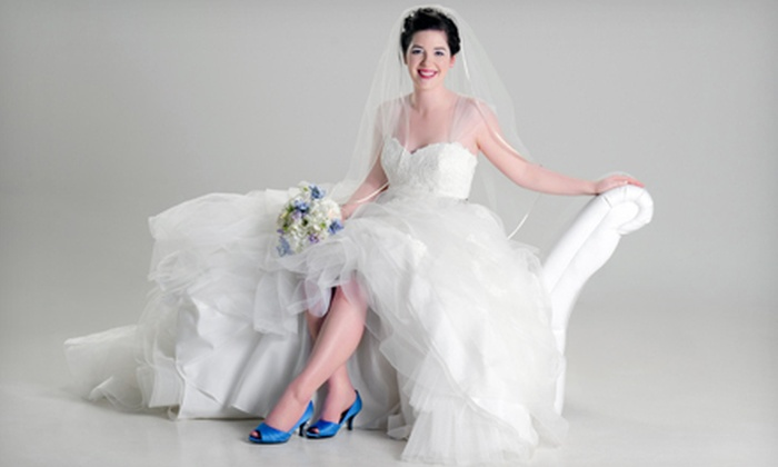 """Neil Boyd Photography - Northwest Raleigh: $125 for a 60-Minute Bridal Portrait Session with One 8""""x10"""" Print at Neil Boyd Photography ($400 Value)"""