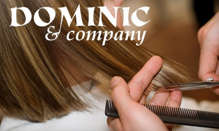 Dominic and Company Inclusive Salon and Day Spa - Olentangy Commons: $30 for $60 Worth of Hair Services from Andrea Saputo at Dominic and Company Inclusive Salon and Day Spa