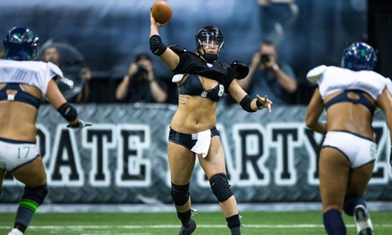 Legends Football League Game for One or Four at Citizens Business Bank Arena on Saturday, April 26 (Up to 55% Off)