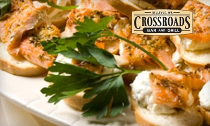 Crossroads Bar and Grill - Crossroads: $12 for $25 Worth of Hearty Breakfast, Lunch, or Dinner Fare at Crossroads Bar and Grill